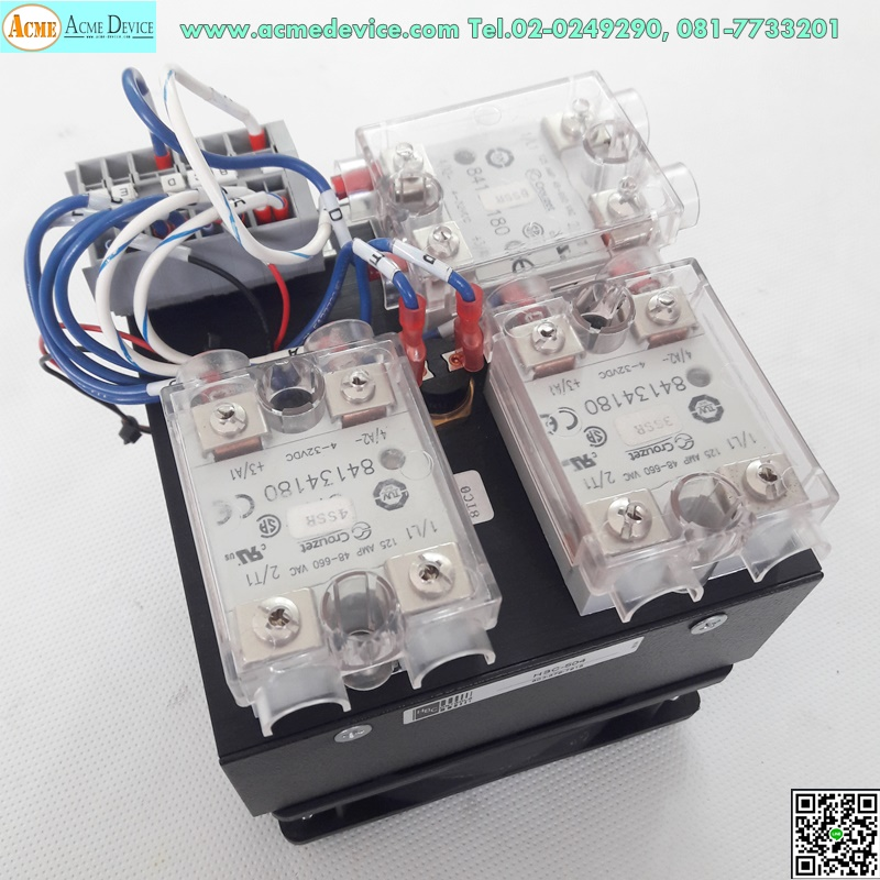 Solid State Relay Crouzet 84134180 48660V 125A